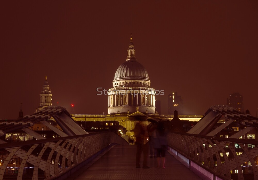 St Paul's Cathedral LONDON by Stemartphotos