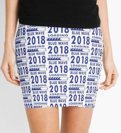 Blue Wave 2018 Loading Mini Skirt