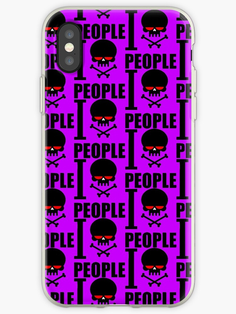 I Hate People Violet by Groppo