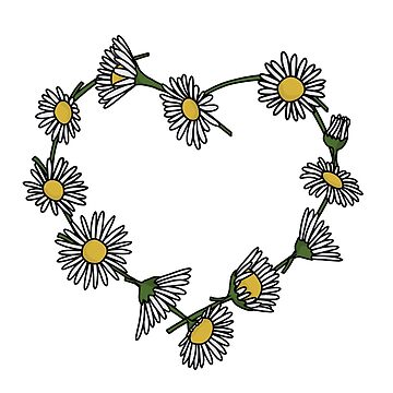Daisy Chain Heart by GoodbyeDolly