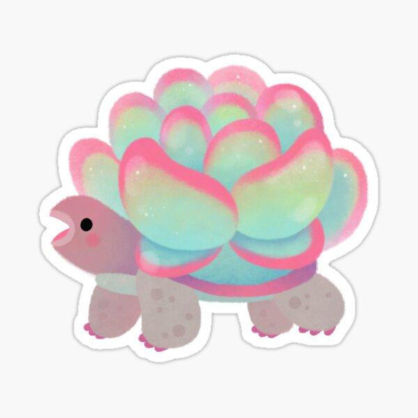 Cactus tortoise Sticker