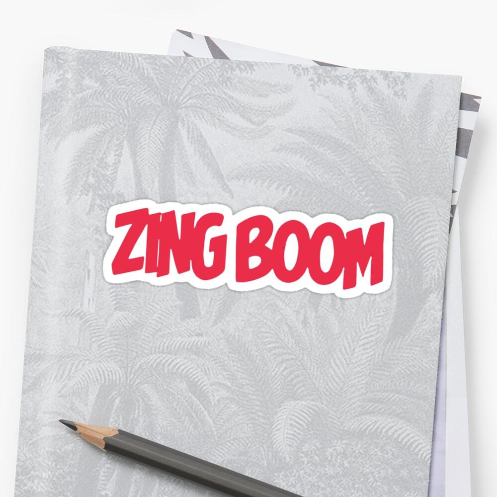 Zing Boom  by mirandaelder