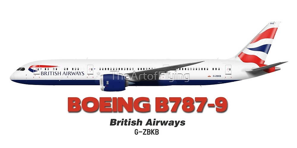 Boeing B787-9 - British Airways by TheArtofFlying