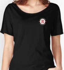 Camiseta ancha para mujer Camisetas negras y otros 16 tipos de ropa (Mathematorium) (M1ROW-WL-C)