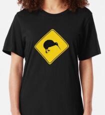 Warning: Kiwi Slim Fit T-Shirt