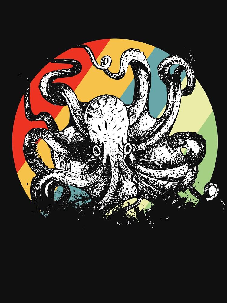 Octopus fish by GeschenkIdee