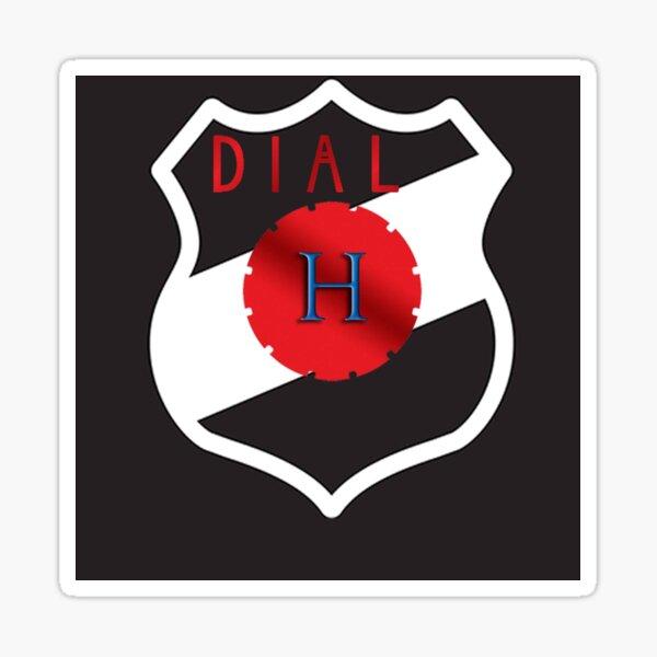 Dial H for heroclix logo Sticker