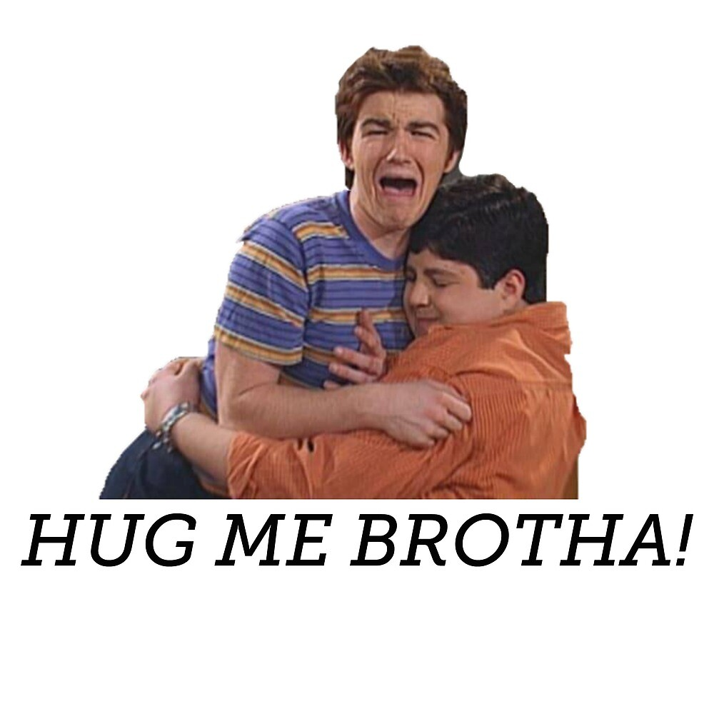 HUG ME BROTHA! Drake and Josh by emilywerfel