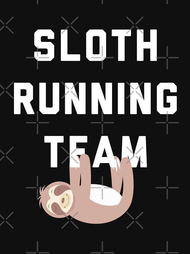 Sloth Running Team by with-care