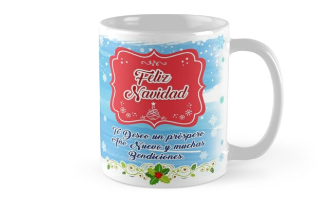 Christmas Mug for Dad by Rodriguezw