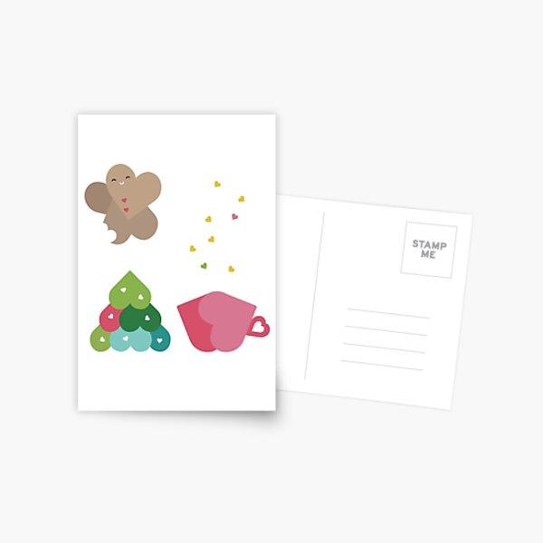 Sweet Holiday Love Postcard