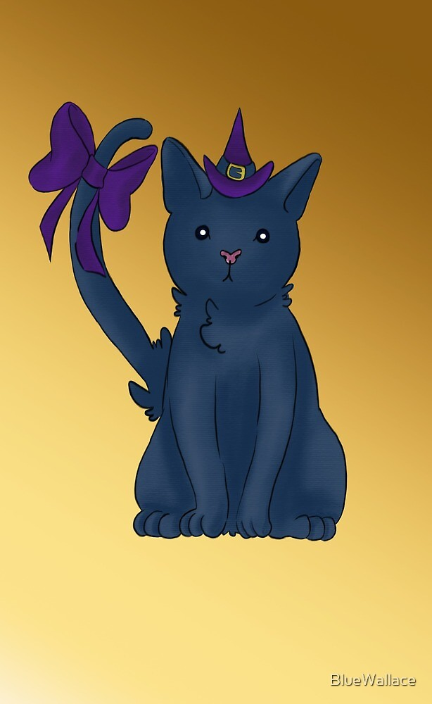 Witchy Cat by BlueWallace