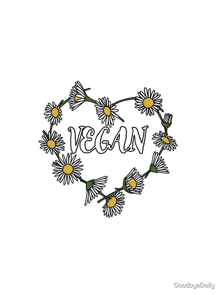 Vegan Daisy Chain Heart by GoodbyeDolly