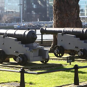 Canon at the Tower Of London  by aodhain