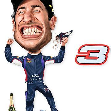 Daniel Ricciardo 2018 Last Race by mal108