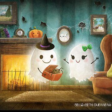 Halloween Ghosts Love by belizabethg