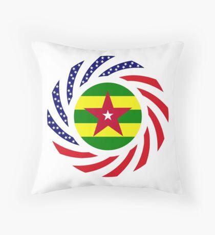 Togo American Multinational Patriot Flag Series Throw Pillow