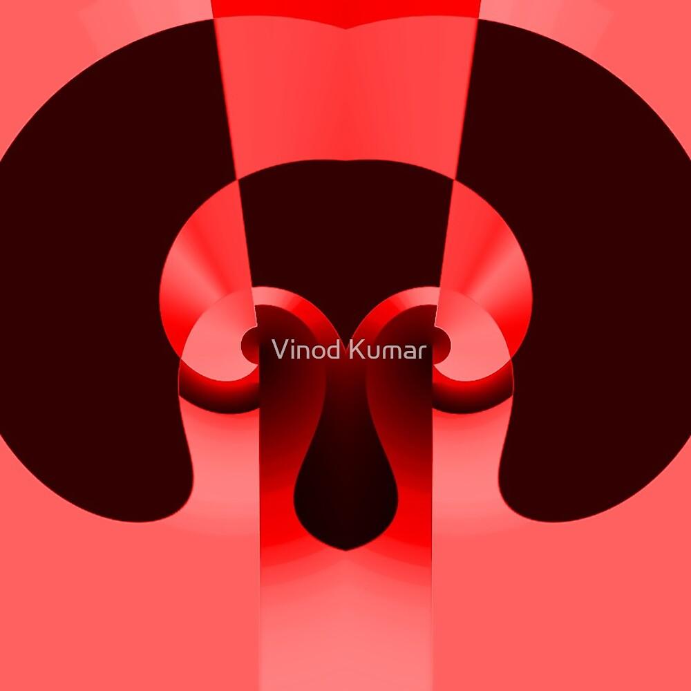 Dog illustration design by Vinod Kumar