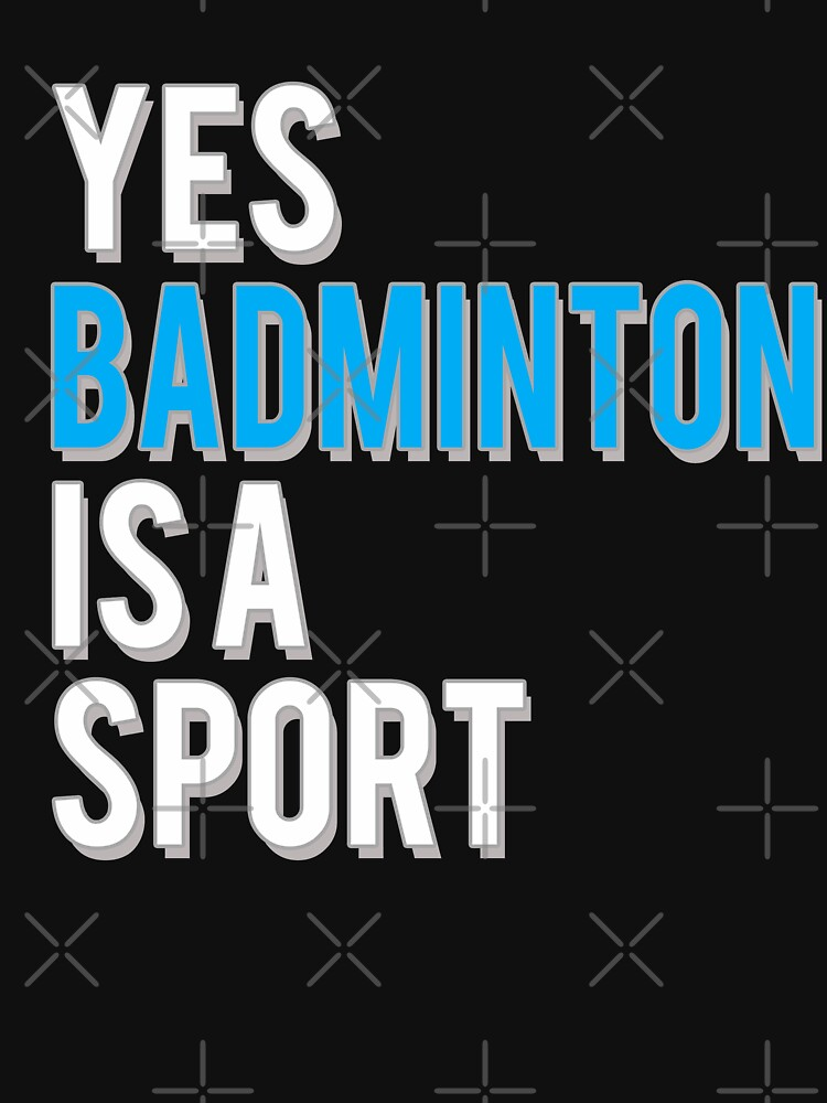 Yes Badminton is a Sport by starider