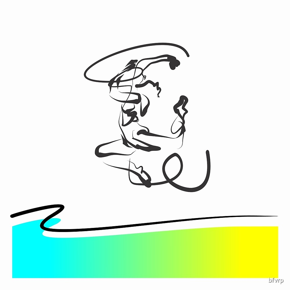 Enthusiastic Dancer by zelko radic