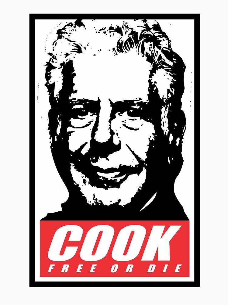 cook free or die shirt by gesarola