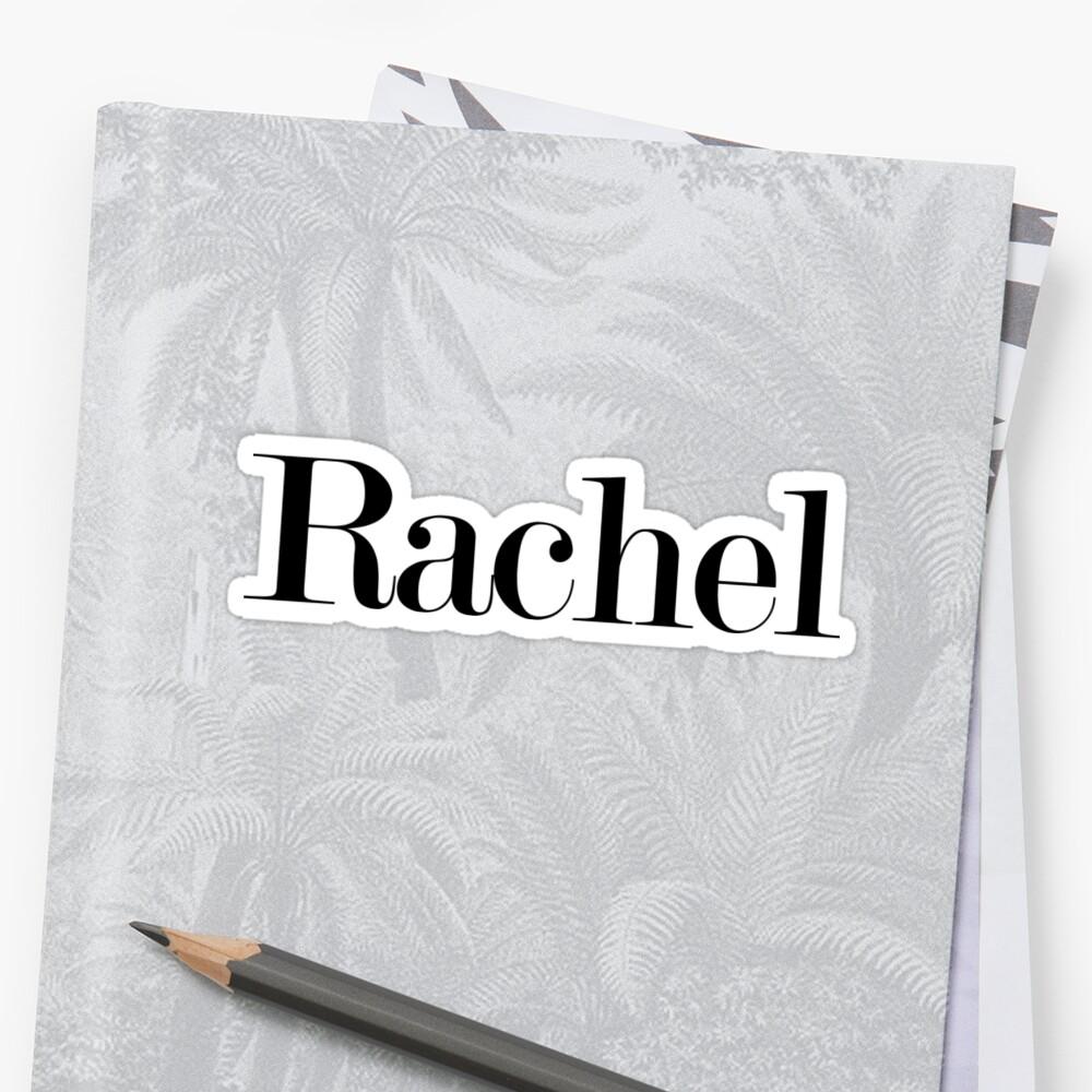 rachel by arch0wl