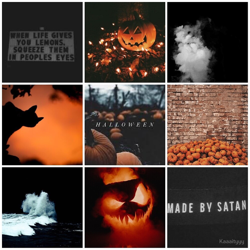 Halloween Moodboard by Kaaaityyy