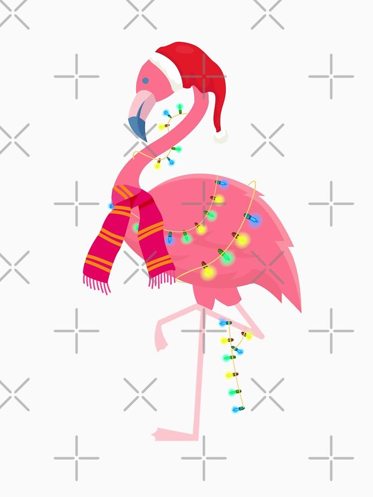 Christmas Flamingo by rkhy