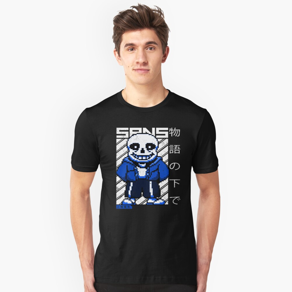 Undertale - Sans | Video Game Shirt Unisex T-Shirt Front