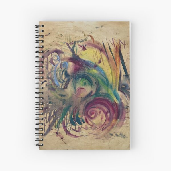 Cosmic Turn Spiral Notebook