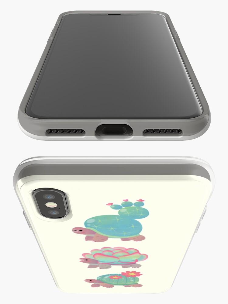 Alternate view of Cactus tortoise iPhone Case & Cover