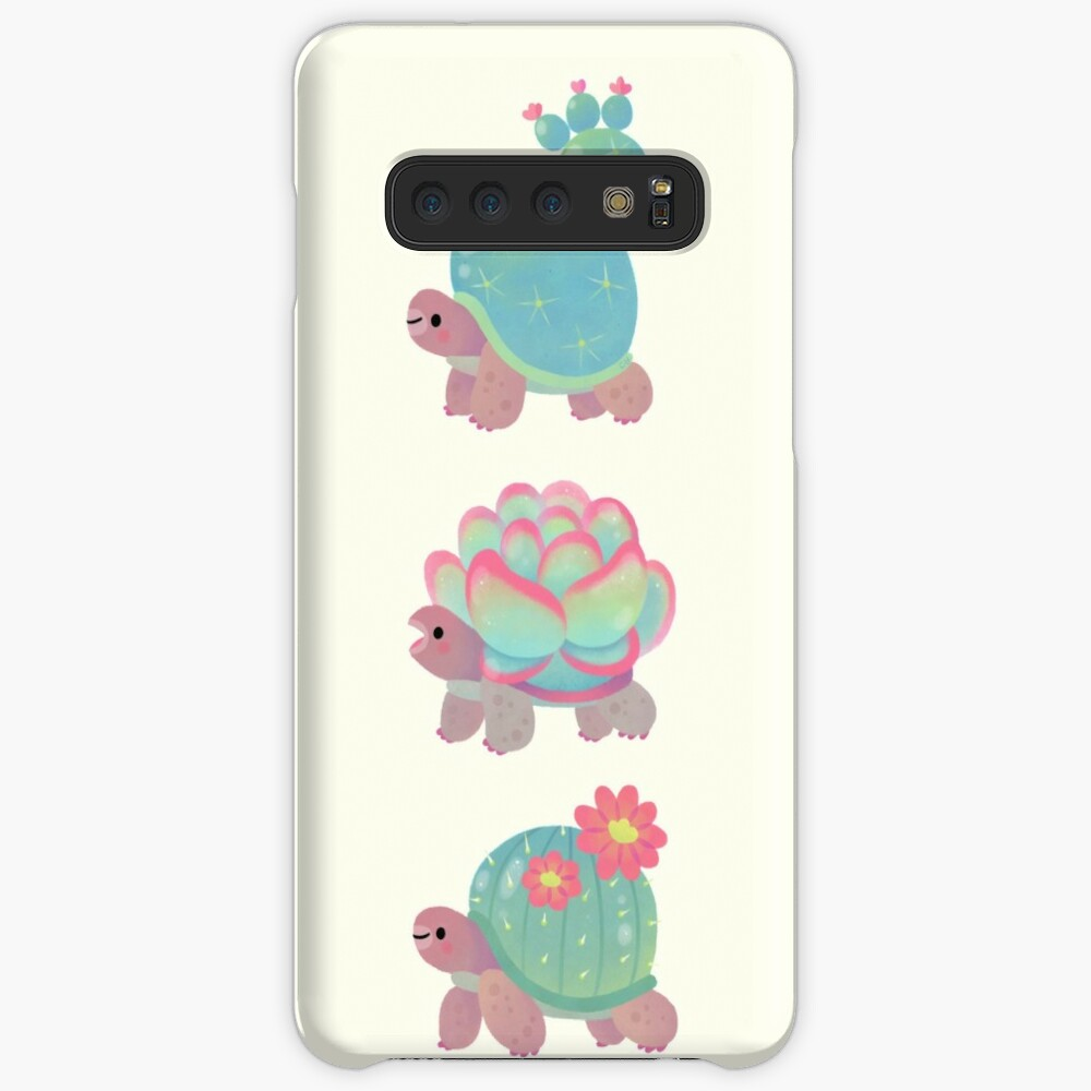 Cactus tortoise Case & Skin for Samsung Galaxy