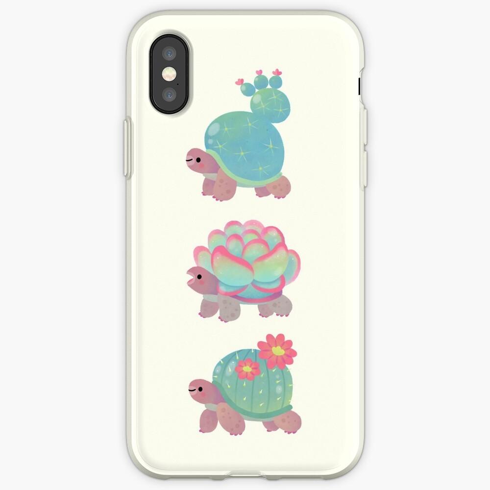 Cactus tortoise iPhone Case & Cover