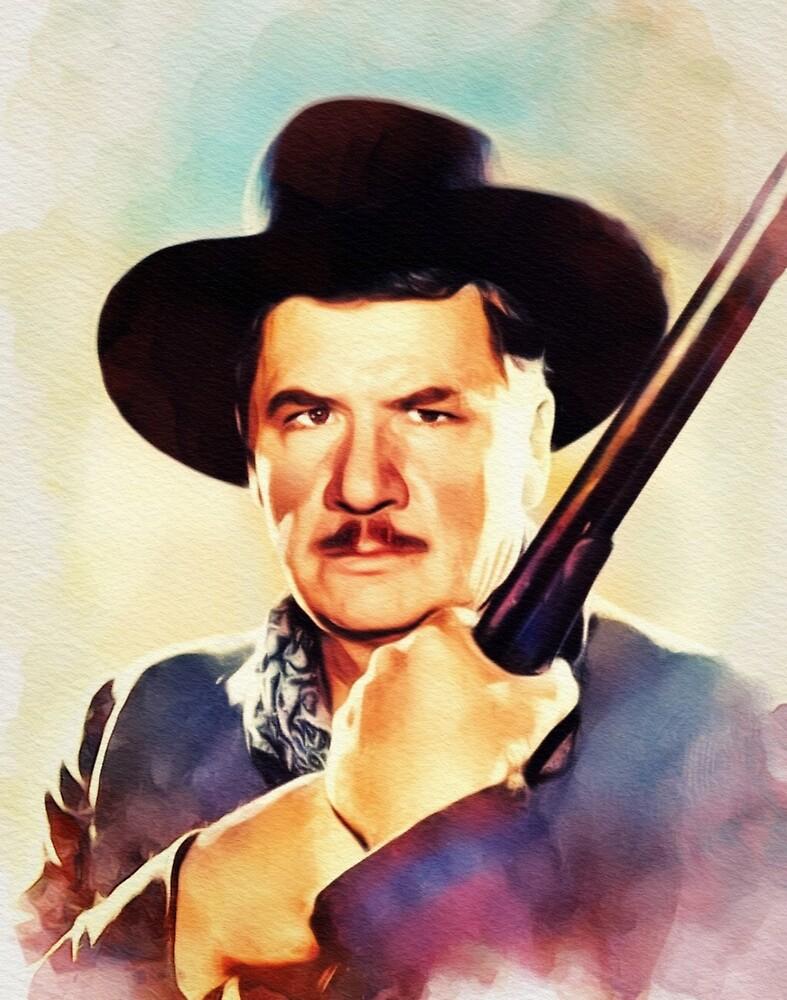 George Bancroft, Vintage Actor by SerpentFilms