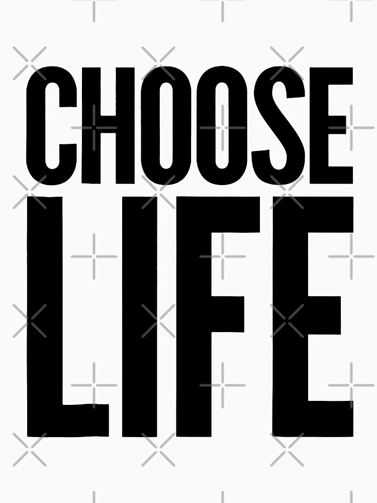 Choose Life Vintage Retro 80s Funny by LilXann