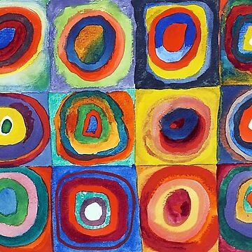 Wassily Kandinsky - Color Study - Bauhaus Art by NewNomads