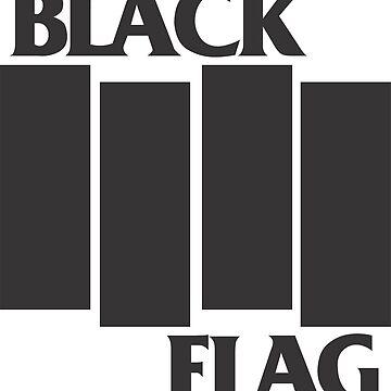 black flag punk shirt by falaturi