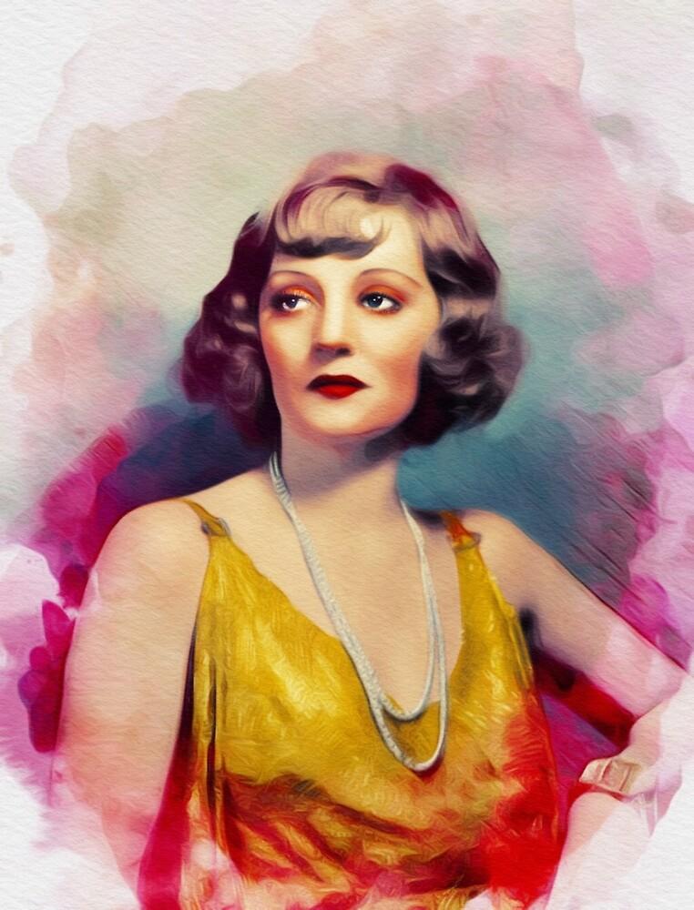 Tallulah Bankhead, Vintage Actress by SerpentFilms