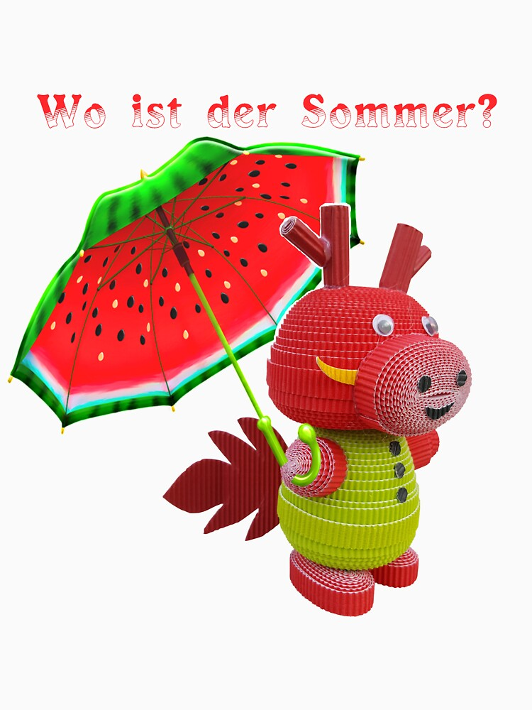 Where is the summer? by CrazyPaperCraft