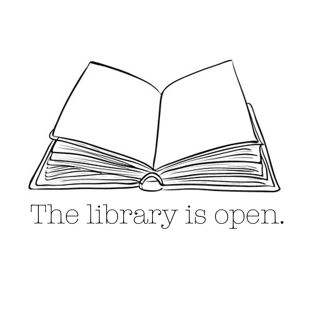 The Library Is Open by mav4