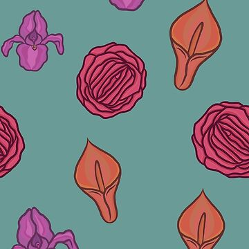 Vagina flowers  by GoodbyeDolly