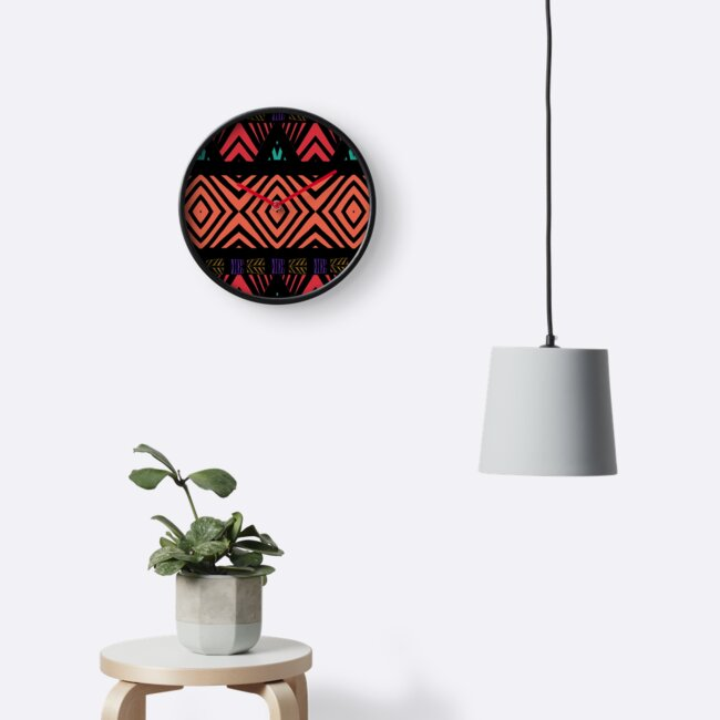 Sun and Dimond Tibal Print by eve7chick