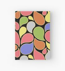 RAIN OF COLORS Hardcover Journal