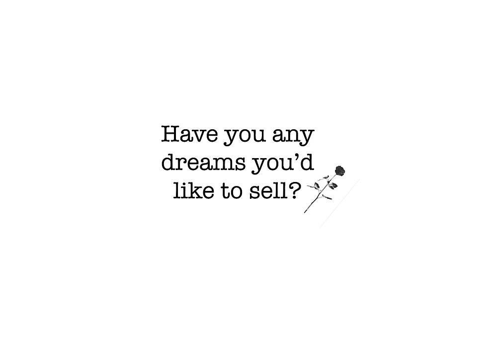 Have you any dreams you'd like to sell? Fleetwood Mac by mirandaelder