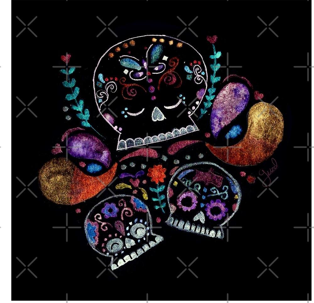 Candy Skull by guzel