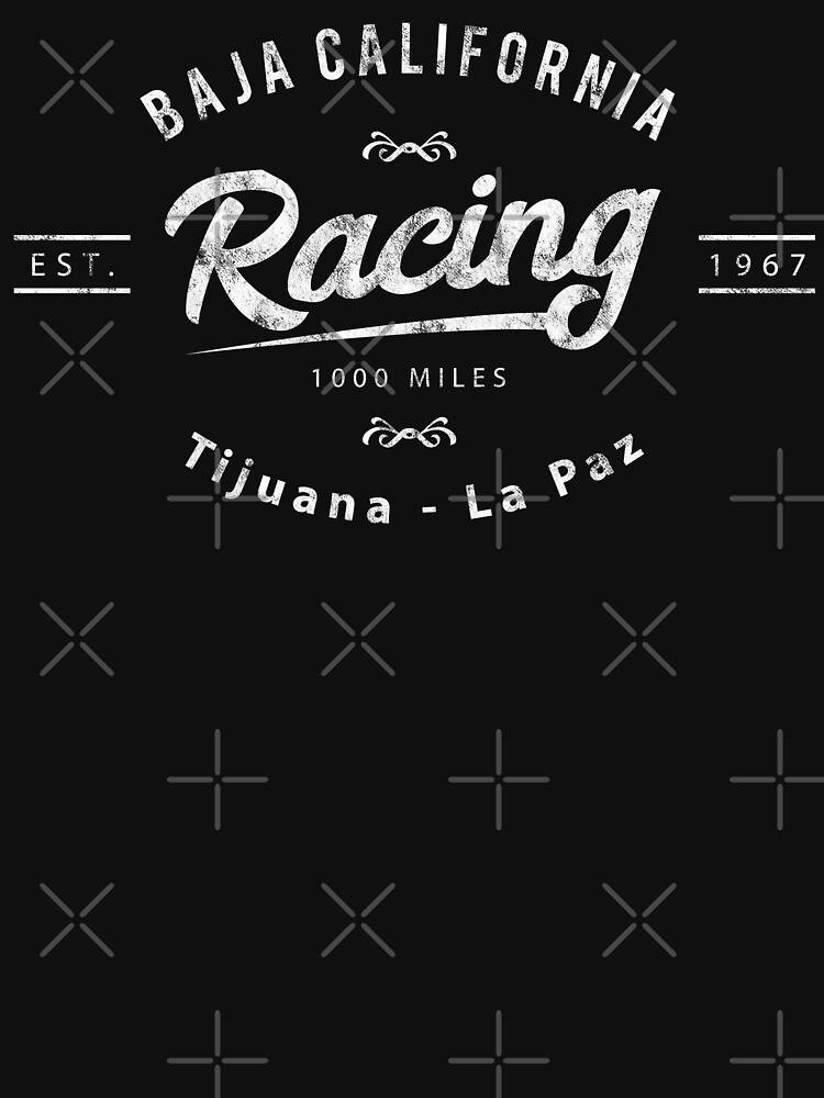 Baja California Racing - 1000 Miles Vintage by starider