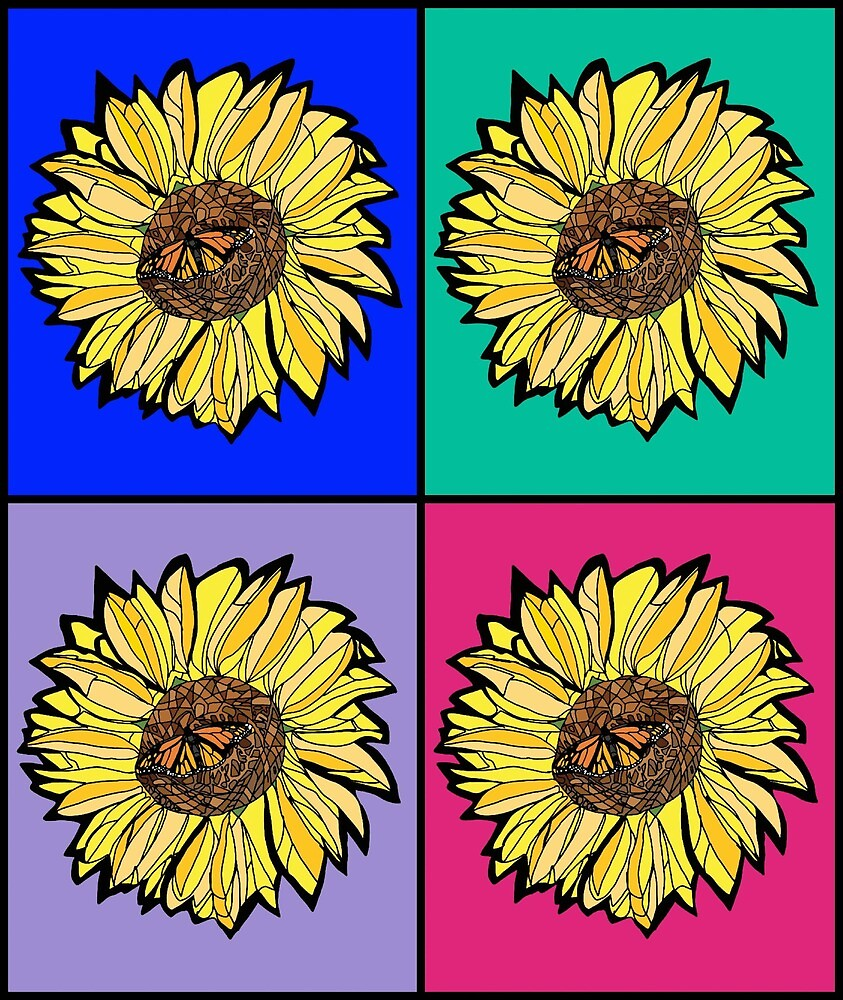 Sunflower by Michael Moore