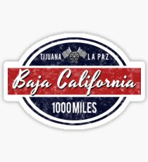 Baja California Racing - 1000 Miles Sticker