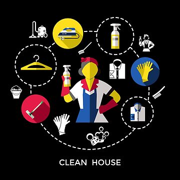 Clean House Best Gift For a Brave Mom  by JakOmar