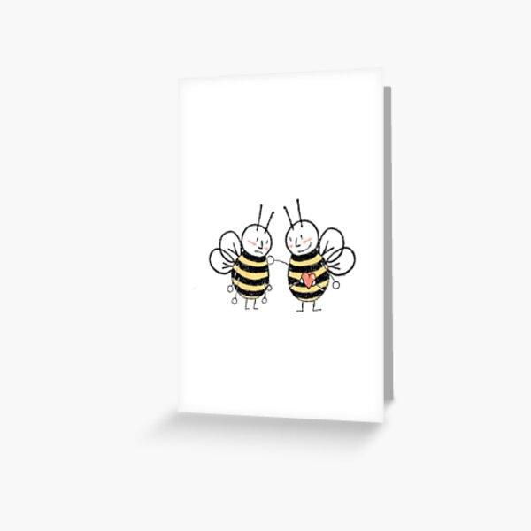 Sympathy Bee Greeting Card